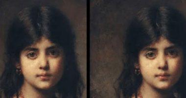 Test visivo Trova le differenze in questi ritratti