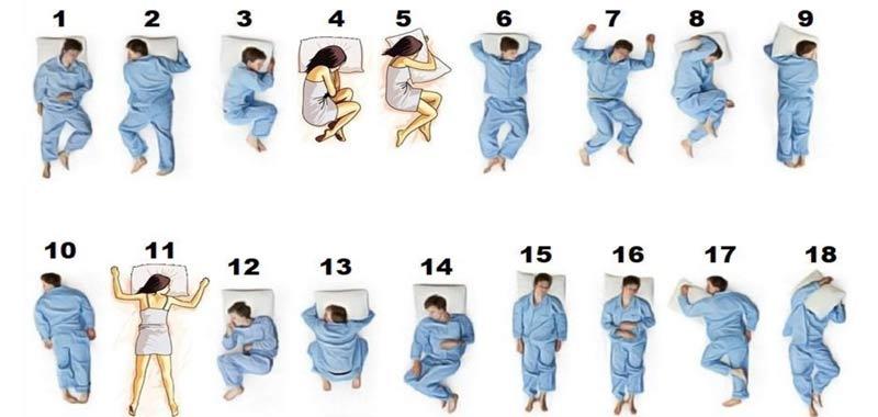 La migliore posizione per dormire cosa dicono gli esperti