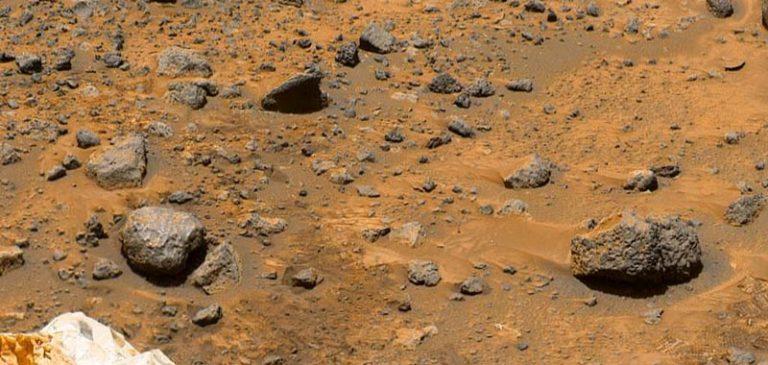 Marte: La testa di una statua ritrovata sul pianeta rosso