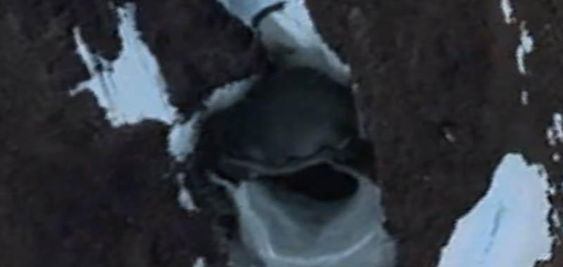 UFO in Antartide scoperto con Google Earth
