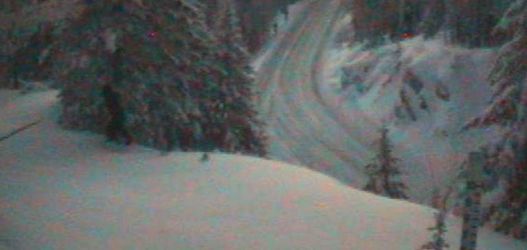 Yeti, altro passaggio catturato da una webcam di servizio
