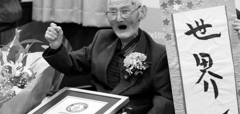 112 anni, morto l'uomo più anziano del mondo