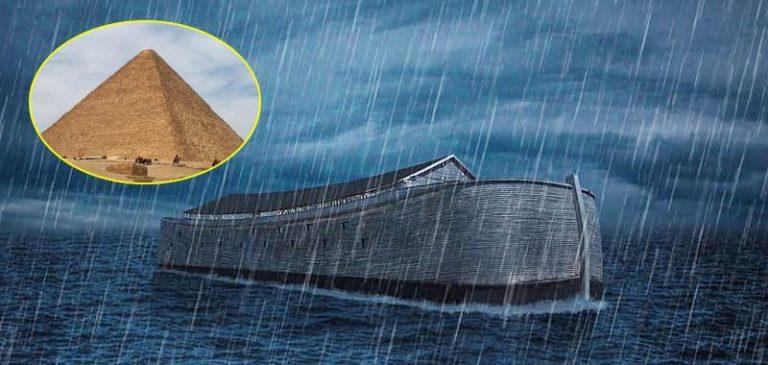L'Arca di Noè in realtà era la grande Piramide di Giza, le rivelazioni