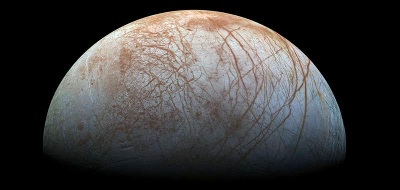 Europa Su una delle lune di Giove vita extraterrestre
