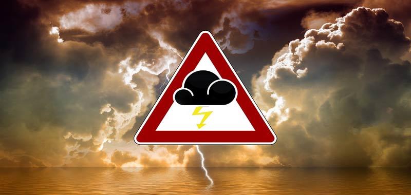 Le previsioni meteo inglesi allarmano gli spettatori ma per una strana ragione