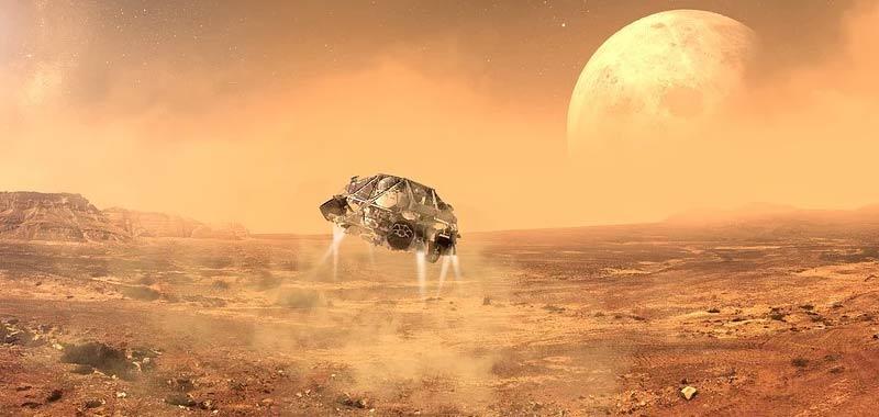 Propulsione elettrogravitica Su Marte possibile arrivarci in 5 giorni