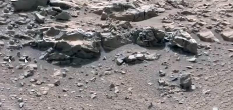 Residui crash alieno su Marte sono identici al disastro Roswell