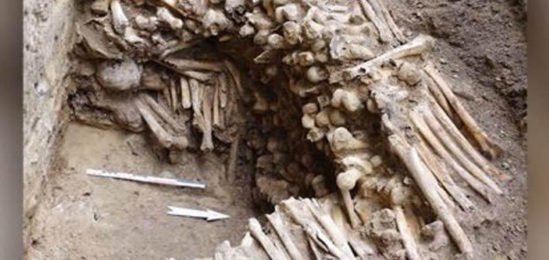 Belgio Una strana parere di ossa trovata in un santuario