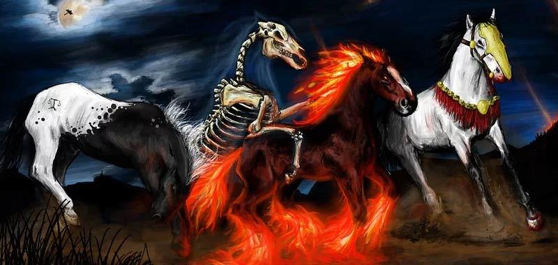 Perche vengono chiamati in causa i 4 Cavalieri de Apocalisse