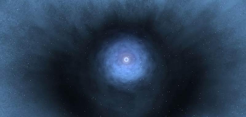 Scienziati Viviamo in una enorme bolla cosmica