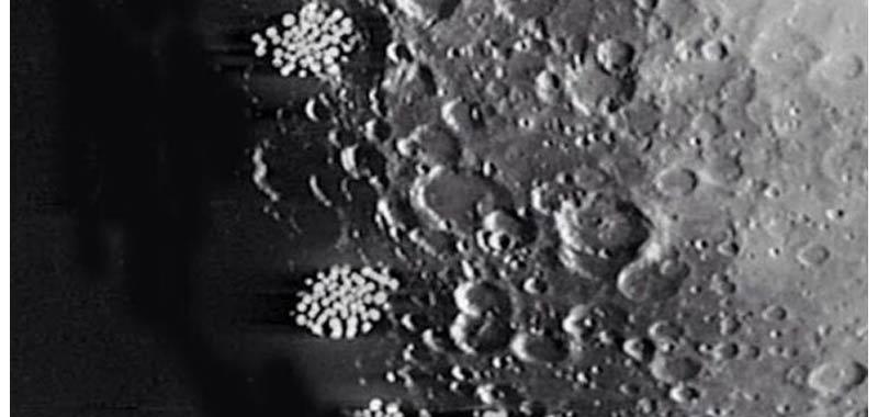 Citta aliena scoperta sul lato oscuro della Luna