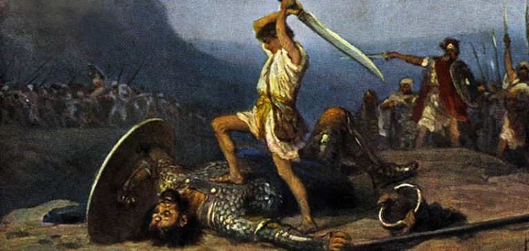 Davide e Golia, l'interpretazione biblica è sempre stata sbagliata?