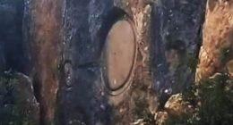 Misterioso cerchio apparso su una montagna in Turchia