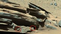 Alieni e religione Strana incisione sulla superficie di Marte