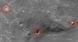 Base aliena e astronave segnalati sulla Luna