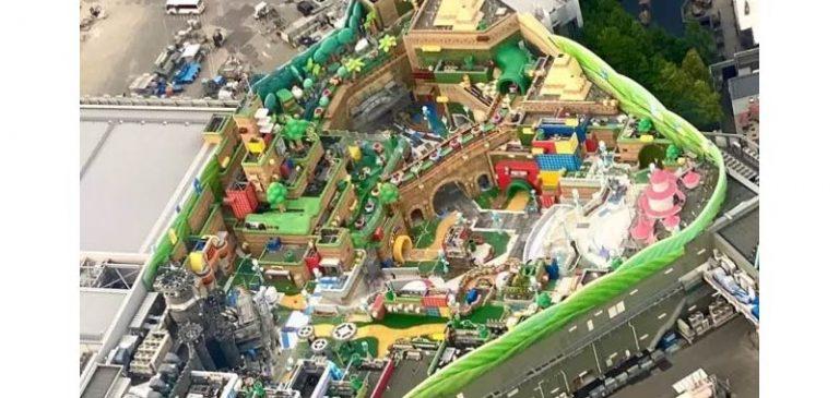 Super Nintendo, incredibile parco che sta nascendo in Giappone