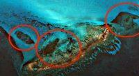 Antica piramide nelle acque di Cuba lo rivea google Maps