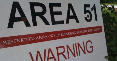 Area 51 Scoperto un ingresso sotterraneo visibile da alto