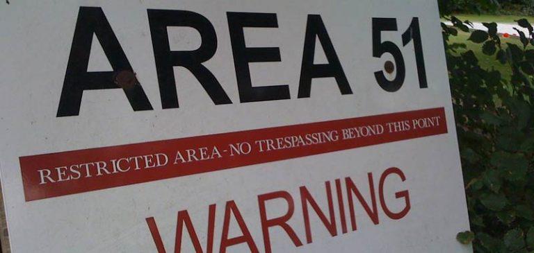 Area 51: Scoperto un ingresso sotterraneo visibile dall'alto