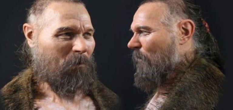 Scienziati ricreano il volto di un uomo di 8000 anni fa