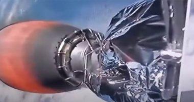 SpaceX dopo il lancio qualcosa cammina vicino ai motori del Falcon 9