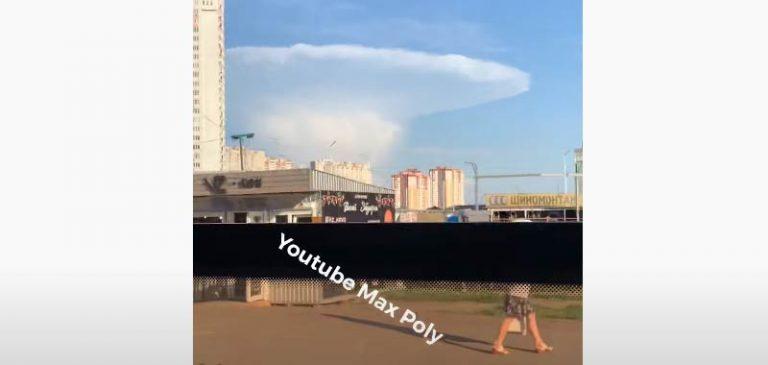 Come un fungo atomico, panico nei pressi di Chernobyl