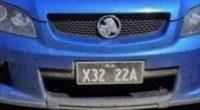 Australia La targa auto diventa virale ecco perche