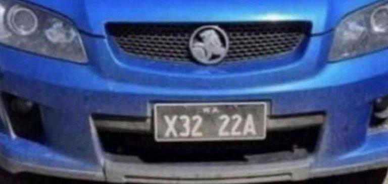 Australia: La targa dell'auto diventa virale, ecco perchè