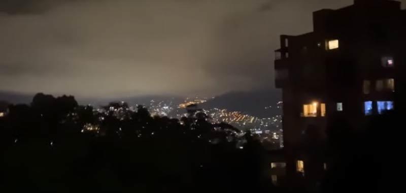 Ancora suoni incredibili dal cielo della Colombia
