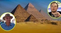 Archeologi egiziani rispondono a Elon Musk piramidi sono umane