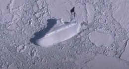 Nuova Zelanda incredibile scoperta di una nave ghiacciata