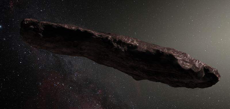 Oumuamua il misterioso oggetto interstellare frutto di civilta aliena