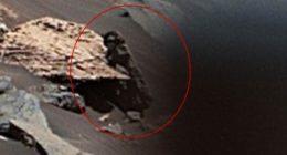 Qualcuno osserva il Rover Curiosity della Nasa