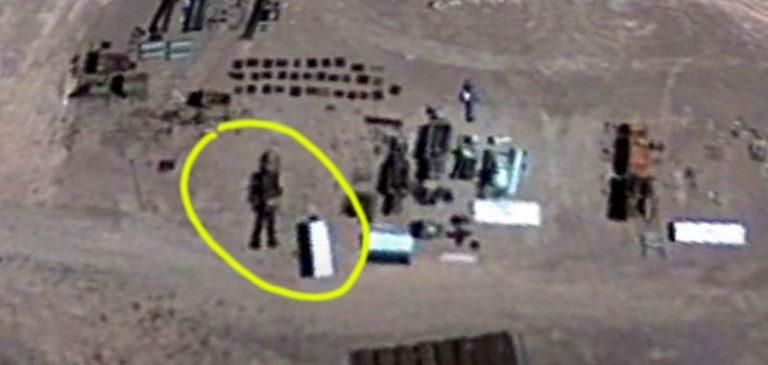 Area 51: Google Maps scopre un robot alieno nella base