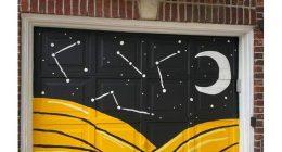 Dipinge il garage i vicini mandano una lettera di protesta