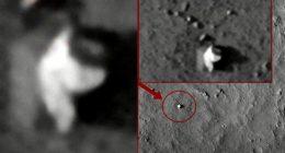 Marte rivelata anomalia simile a creatura alata