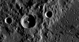 Mercurio, struttura che potrebbe essere una base aliena