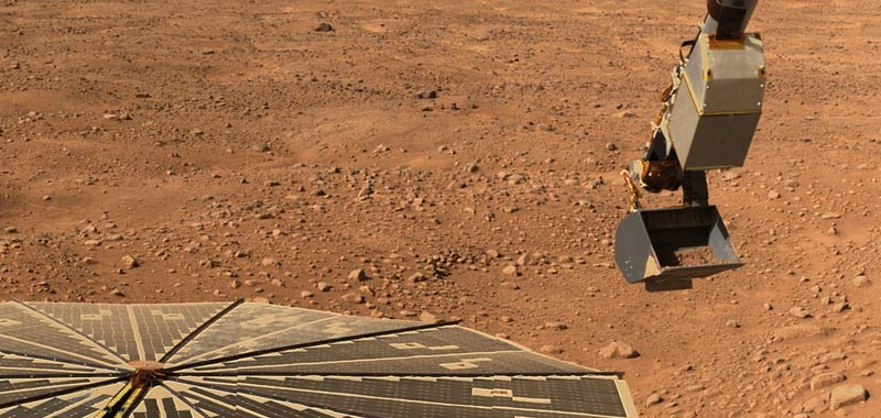 Su Marte la vita potrebbe essere presente nel sottosuolo