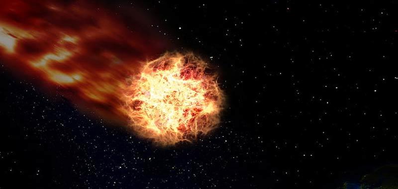 Vermi scoperti in un meteorite proveniente da Marte