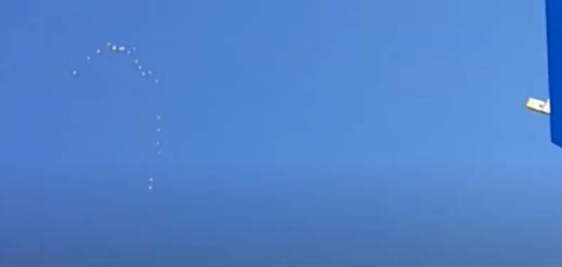 Flotta di UFO avvistata sulla California