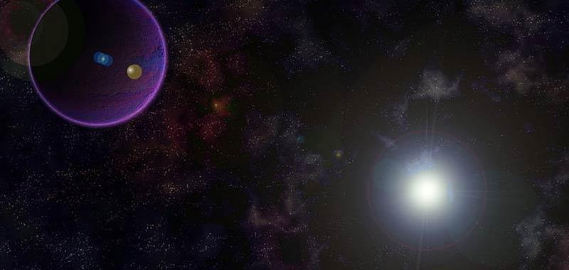 Incredibile buco nero ha attirato sei galassie
