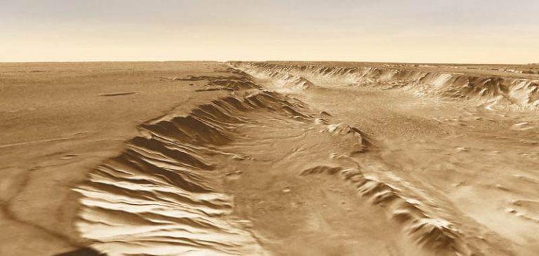 Marte: La Nasa scopre dune di sabbia simili alla Terra