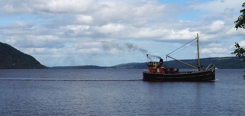 Loch Ness oggetto di 9 metri segnalato dal sonar