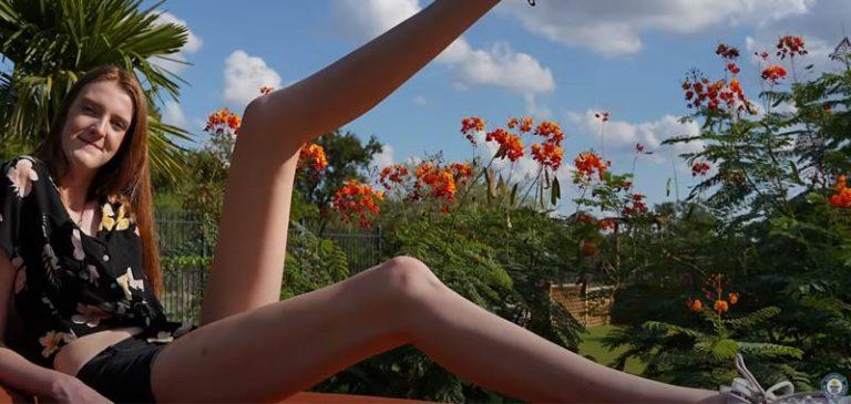 Maci Currin, premio per le gambe più lunghe al mondo