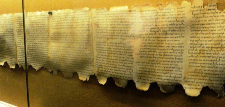 Rotoli del mar morto, la vera profezia del giorno del giudizio