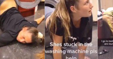 Vigili del fuoco chiamati ad estrarre una donna dalla lavatrice