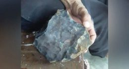 Diventa ricco grazie ad un meteorite caduto in casa