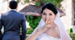 Sposa indignata con il marito ha rovinato tutte le foto