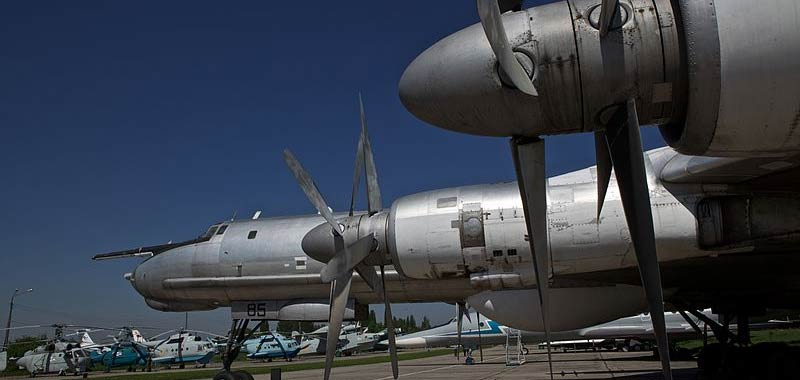 Tu-142 russo avvistato sul Mare del Nord