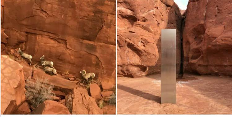 Monolite nello Utah, rivelano chi è stato a rimuoverlo